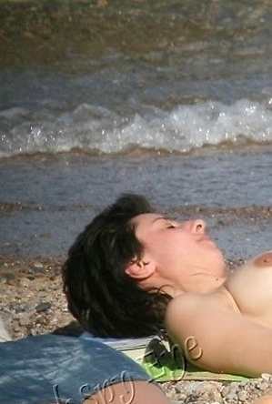 brunette, busty nudists, hairy pussy, mature nudists, nude, on  beach, pussy,