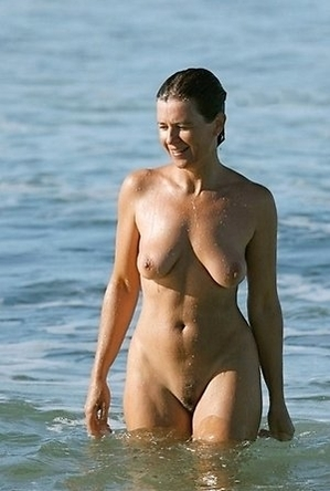 hidden camera, nude, on  beach,