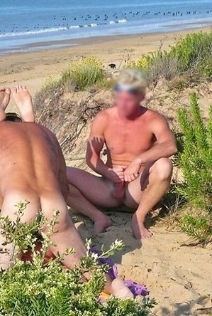 blowjob, exhibitionists, on  beach, sex, shameless, threesome,