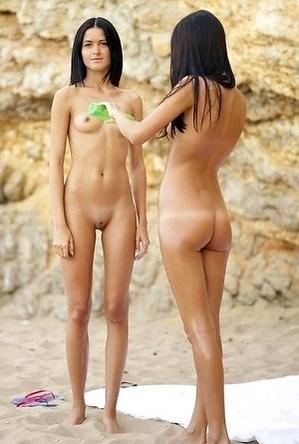 girls,on  beach,panties,sunbath,