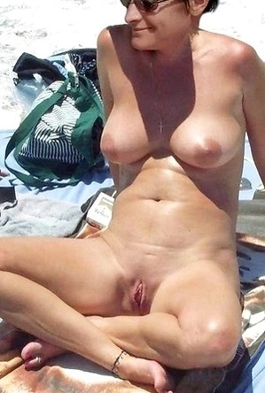 busty nudists, hidden camera, legs, nude, on  beach, shaved pussies, spreads,