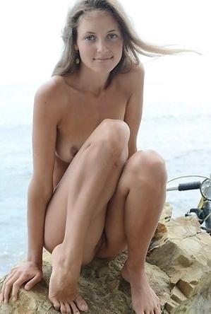 asian girls,enjoy on the beach,girlfriends,naked girls,on  beach,skinny girls,solo girls,