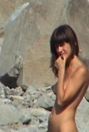 brunette,hidden camera,nude,on  beach,skinny girls,teen girls,