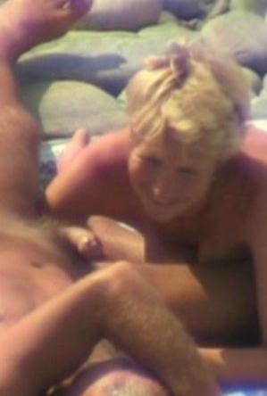 blonde women,blowjob,hidden camera,mature nudists,nice,nude,on  beach,
