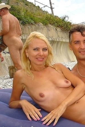 nude,on  beach,