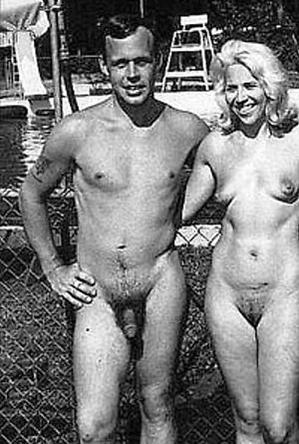 body art,on  beach,vintage nudism,