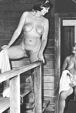 on  beach,retro nudists,vintage nudism,